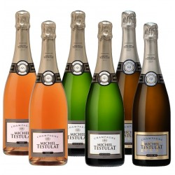 Champagne Michel Testulat : Coffret La Sélection