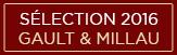Sélection Gault&Millau 2016