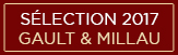 Sélection Gault&Millau 2017