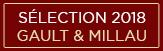 Sélection Gault&Millau 2018