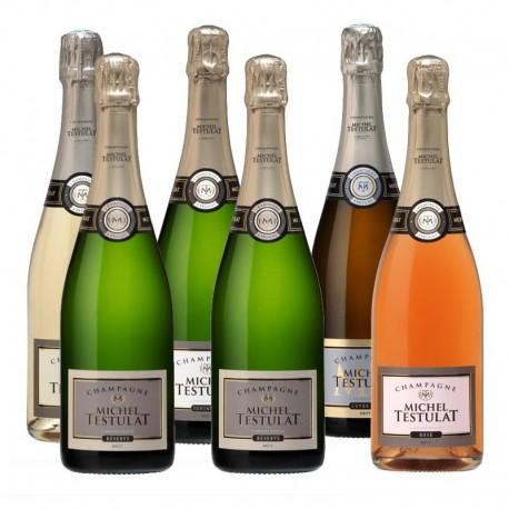 Coffret Découverte - Champagne Michel testulat